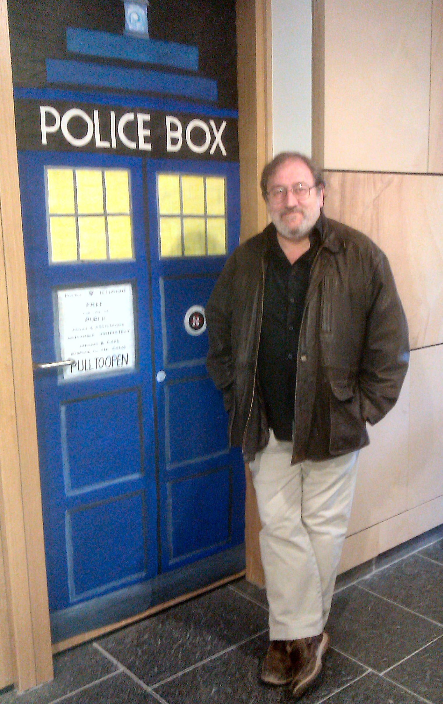 BD and his Tardis